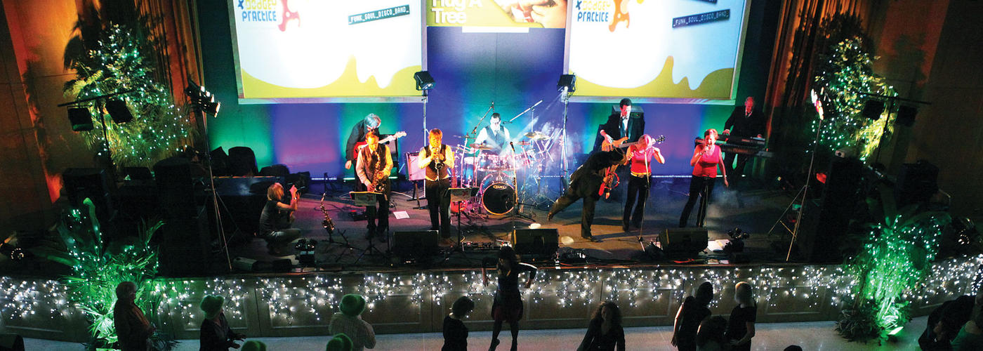 Riviera International Conference Centre Forum Entertainment Live Music